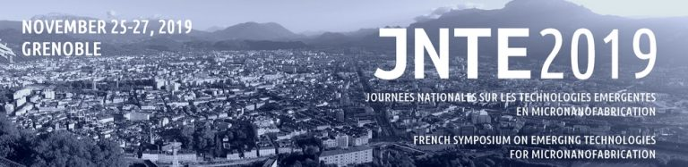"""SILSEF will be invited speaker at JNTE 2019. We will talk about """"Nanoimprint lithography and application to steel engraving"""" on november 25th-27th 2019 at Grenoble.  https://jnte2019.sciencesconf.org/"""